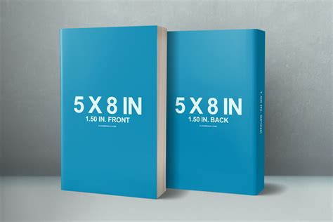 book mockup template free 6 x 9 3 book box set mockup template covervault