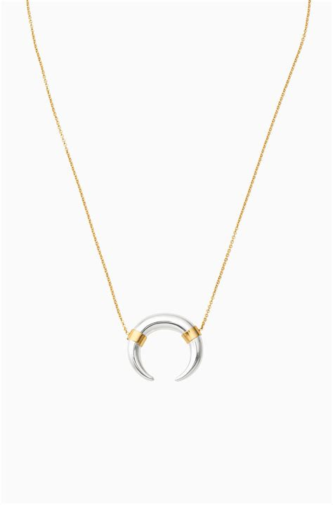 Stella Necklace crescent necklace silver crescent necklace stella dot