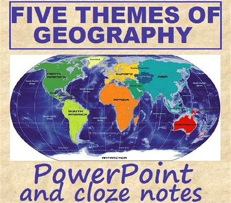 themes of geography five themes of geography geography and five themes of