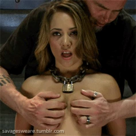 Tit Punch Tits Squeezed Nipple Pulling Tits Torture Milking