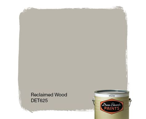 dunn edwards paints paint color reclaimed wood det625 click for a free color sle