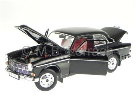 Mobil Polisi Die Cast Vehicle volvo 121 black diecast model car 7081 revell 1 18