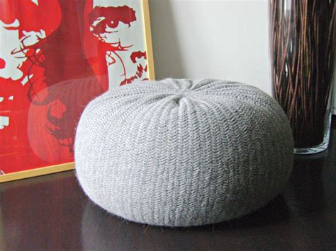 pouf pattern knit knitted pouf patterns on craftsy