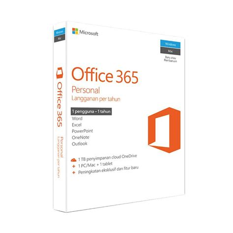 blibli office jual web microsoft office 365 personal online harga