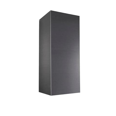 broan elite fan broan elite black stainless ducted flue extension for