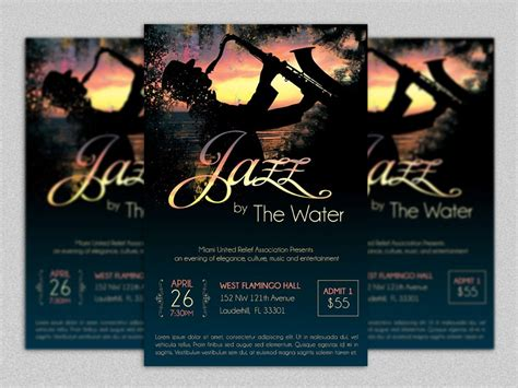 20 event flyer template psd for music sports and fund