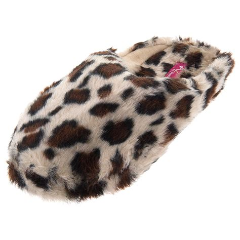 leopard house shoes leopard slippers 28 images leopard print plush soft animal house slippers for