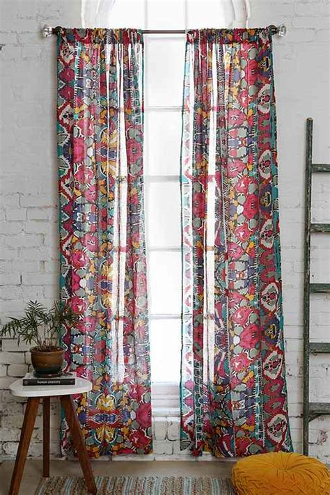 cortinas etnicas magical thinking painted eye curtain outfitters