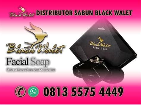 Sabun Black Walet Original hp wa 0813 5575 4449 distributor sabun black walet