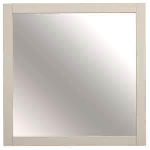 square bathroom mirror shop allen roth brisette 30 in w x 30 in h square