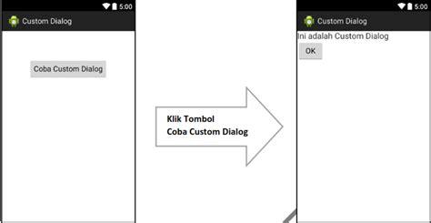 tutorial android studio lengkap tutorial cara membuat custom dialog di android studio