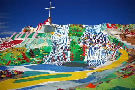 Gray Paint Color by Salvation Mountain And The Faith Of Leonard Knight The