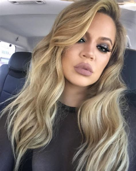 khloe kardashians ombre hair expert tips to get the look khloe kardashian s fillers plastic surgery nightmare
