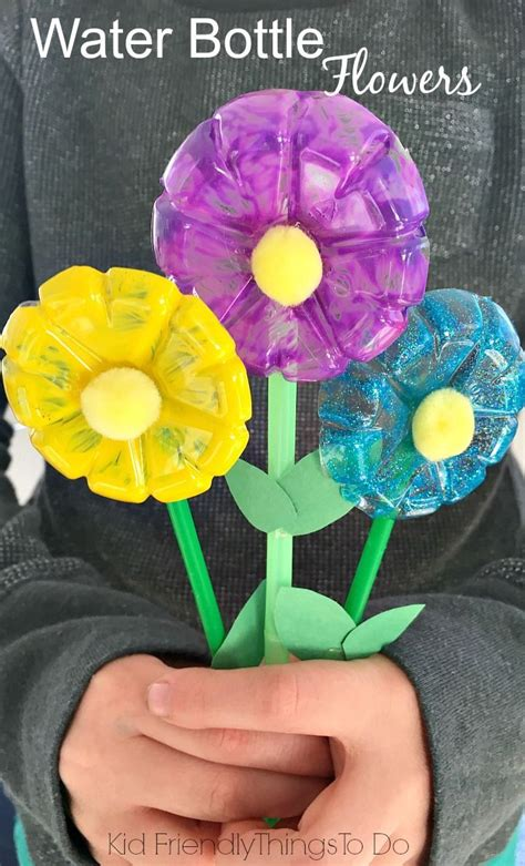 recycled water bottle crafts for best 25 water bottle flowers ideas on empty