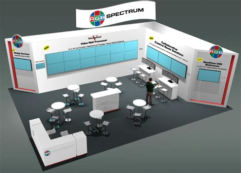 booth layout en francais infocomm 2015 it s all about 4k rgb spectrum