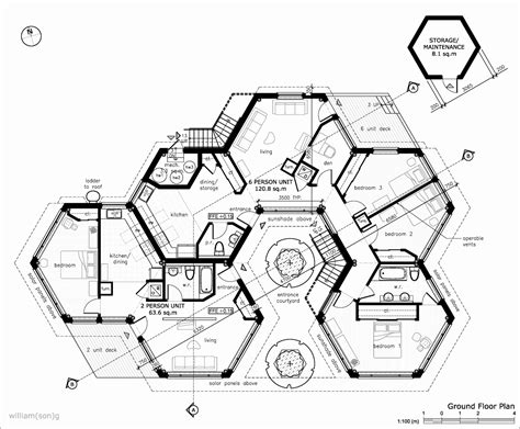 hobbit hole floor plan hobbit hole house plans