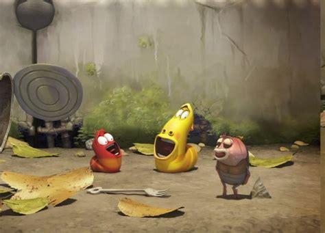 film ulat lucu nk rama larva cartoon