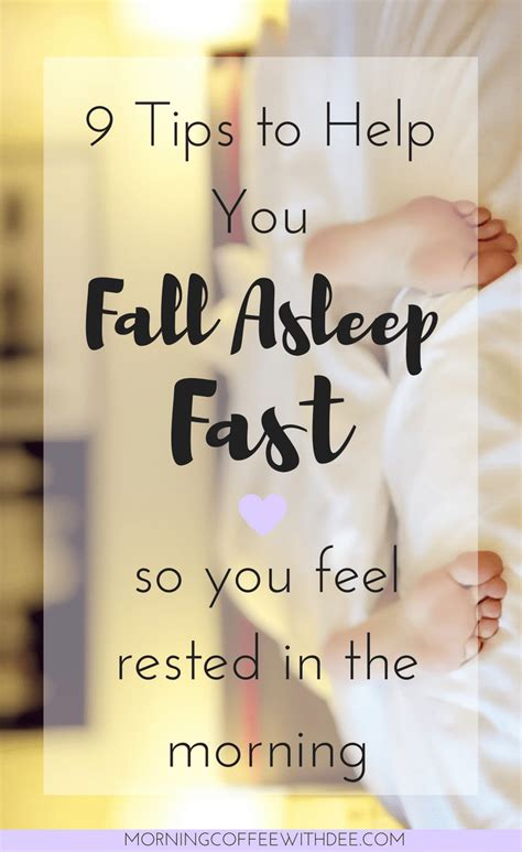 9 sneaky tips to help 9 tips to help you fall asleep fast morning coffee with