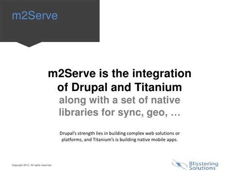 drupal mobile blisstering drupal mobile and m2serve