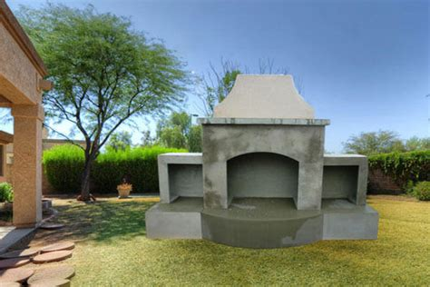 Foundation For Outdoor Fireplace by Outdoor Fireplaces Made Of Precast Gfrc Pacific Design Inc