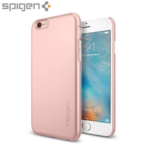 Spigen Thin Fit Iphone X Original Chagne Gold spigen thin fit iphone 6s 6 shell gold reviews