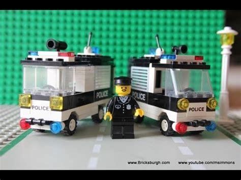 tutorial lego classic lego police vans prisoner transport chief s mobile