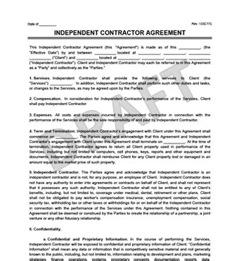 typical design and build contract arrangement independent contractor agreement template california