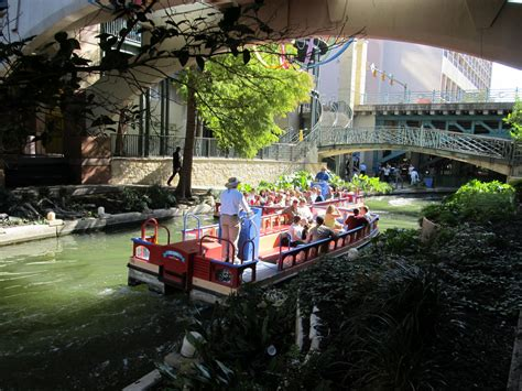 san antonio riverwalk boat riverwalk boats cruising free stock photo public domain