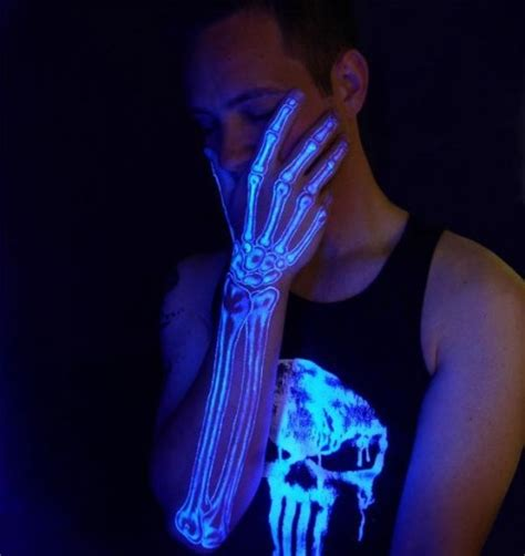 glow in the dark neon tattoo neon tattoo ink and steel pinterest