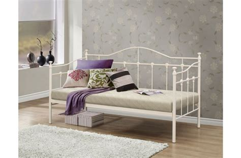 metal day bed frame birlea torino 3ft single metal day bed frame by birlea