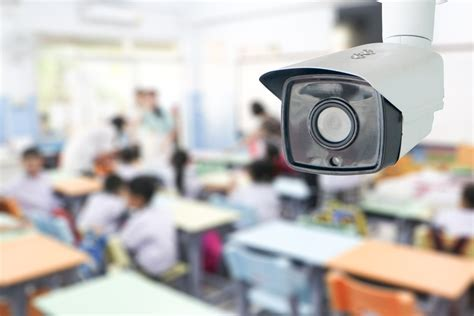 study interior security cameras on cus make students