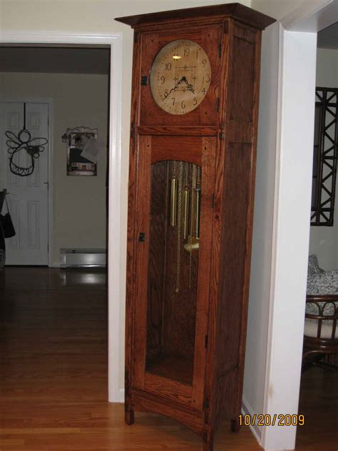 simple  grandfather clock plans plans diy