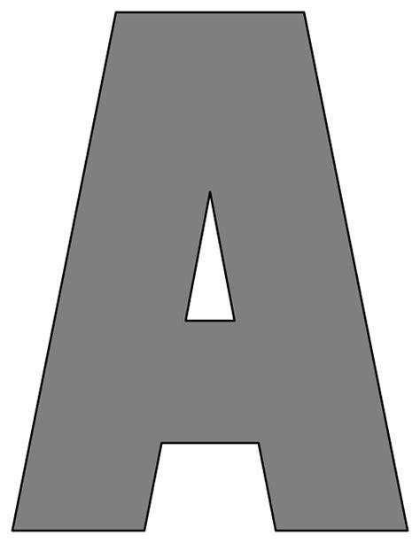 Letter Gray Black Printable Letters Black Alphabet Letters Black Alphabets To Print