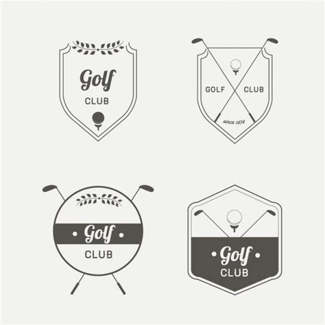 gulf logo vector golf logo vector free