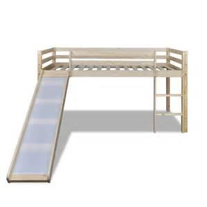 Loft Bed Ladder Vidaxl Co Uk Loft Bed With Slide Ladder Colour