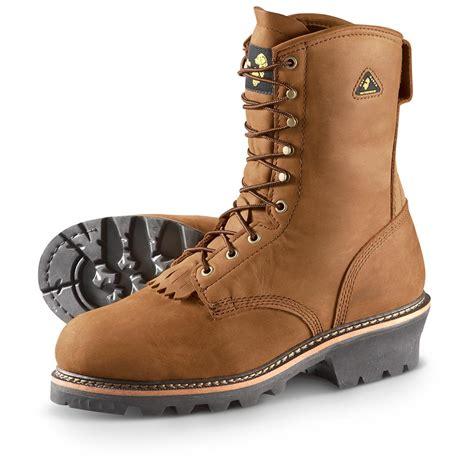 golden retriever work boots s golden retriever 9 quot waterproof 400 gram vibram 174 logger boots