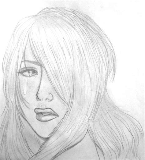 imagenes de amor triste para dibujar dibujo i playing with sadness jugando con la tristeza