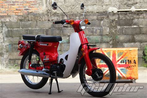 Jok Honda C70 Standart Bahan Berkualitas motor astrea grand modif c70 automotivegarage org