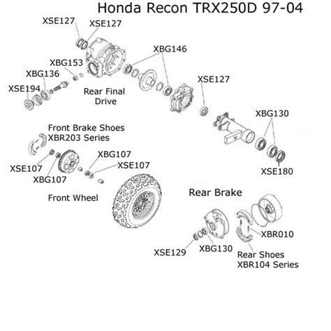 honda recon parts diagram honda recon carburetor diagram car interior design