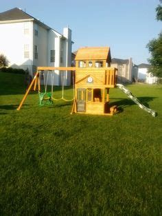 Big Backyard Ashberry by Big Backyard Windale Playset From Toys R Us Installed In