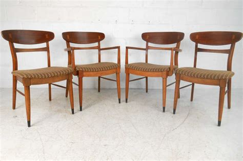 lane dining room furniture set of lane dining chairs by andre bus at 1stdibs