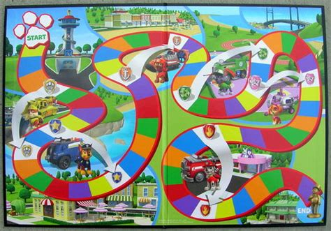 printable adventure board games paw patrol is on a roll er spinner a review of paw