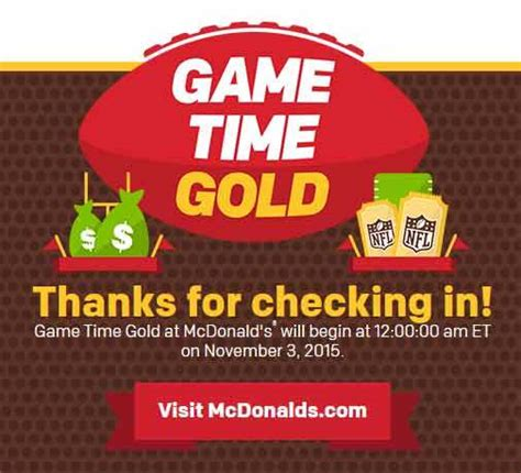 Mcdonald Sweepstakes - playatmcd com