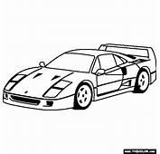 Ferrari  Coloriages Des Transports Page 2
