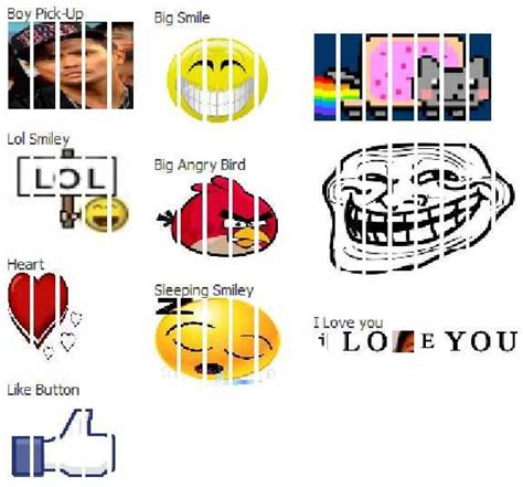 Facebook Chat Meme Codes - facebook chat emoticons tricks latest