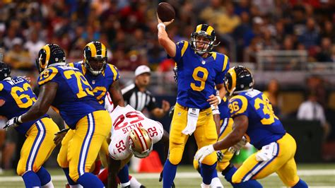 la rams football welcome back to socal los angeles rams socal sports annals