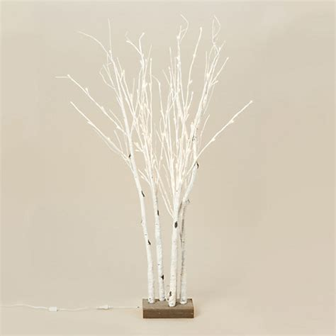 led lighted birch branches lighted birch forest