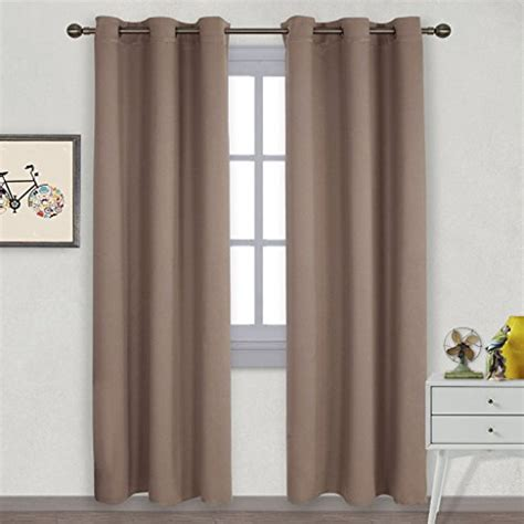 Bedroom Curtains Grommet From Usa Nicetown Window Treatment Thermal Insulated Solid