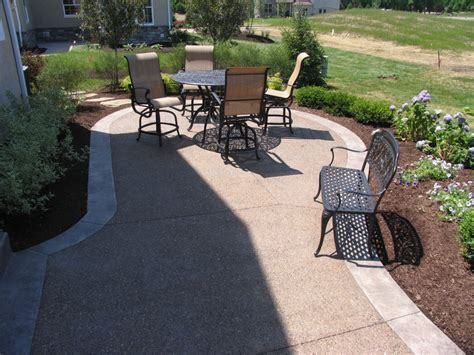 exposed aggregate patios driveways porches pool decks and