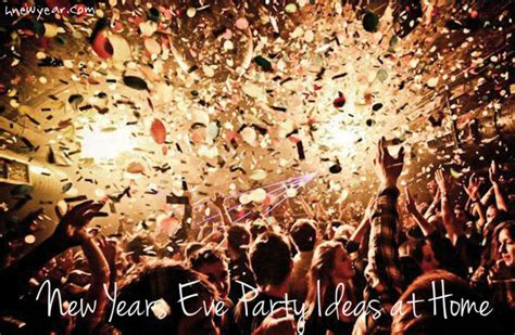 happy new years eve party ideas at home in india 2017